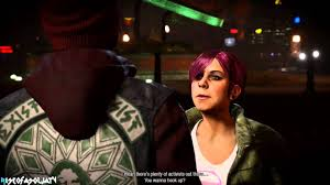 Infamous Second Son Delsin Rowe and Abigail Walker (Fetch) Kissing ...