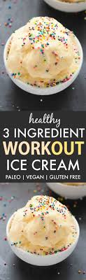 no churn workout protein ice cream