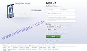 facebook com create facebook account login fb com