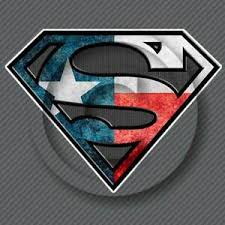 Texas Superman Window Sticker Cowboy Car Truck Lone Star Hero Riding Decal Ebay