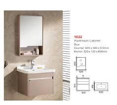ceramic basin glass mirror bathroom