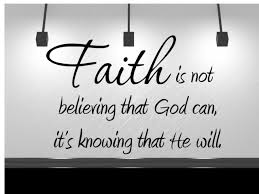 Wall Sticker Faith Is Not Believe That God Can Quote Vinyl Decal Sp 81 C1