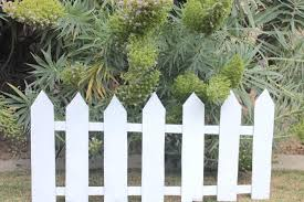 Easy Cardboard Picket Fence Decoration Fence Decor Picket Fence Fence Design