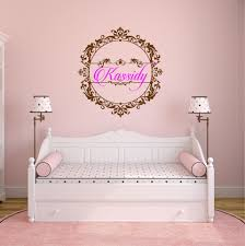 Princess Wall Decal Girls Bedroom Perfect Quality Vinyl Removable Wall Stickers Shabby Chic Decor Personalized Name Decals Za610 Princess Wall Decals Name Wall Decalswall Decals Aliexpress