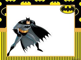 Fiesta De Batman Imprimibles Para Fiestas E Invitaciones Para