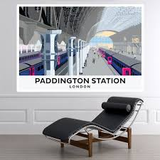 Paddington Station Wall Sticker By Andy Tuohy