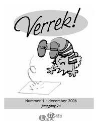 Verrek December 2006 Linea Recta Universiteit Twente