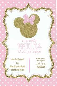 Pin De Keyleen Amaro En Emma Invitaciones Minnie Invitacion De