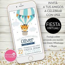 Con Nuestras Invitaciones Digitales Decora Tu Cumple Facebook