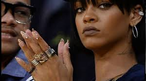 rihanna nails design you