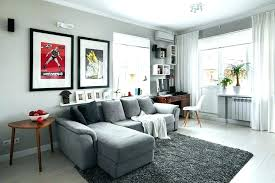 light grey wall paint living room