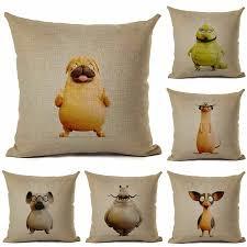 Animal Case Kids Throw Car Chair Pillow Cover Home Room Cushion Decor Ebay