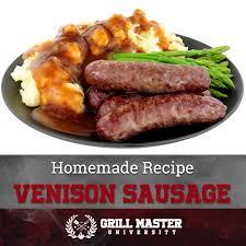 homemade venison sausage recipe grill