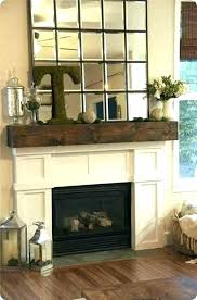 taper candles rustic decor fireplace