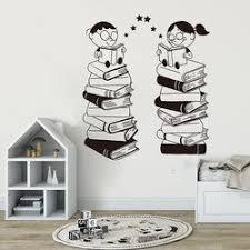 Book Sticker Wall Naoko