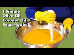 olive oil coconut oil soap recipe