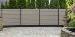 Composite Fencing Grey Composite Warehouse