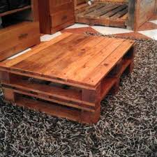 white rustic pallet coffee table easy