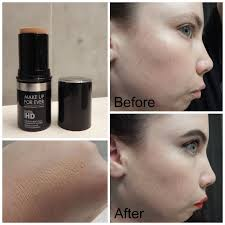 makeup forever stick foundation dry