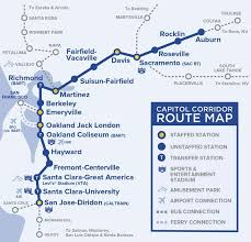 train route map for northern california