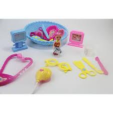 Đồ chơi mô hình bé làm bác sĩ - Tập làm bác sĩ size 3 tuổi trở lên - Chất  liệu nhựa ABS an toàn cho trẻ