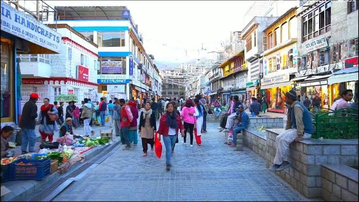 Image result for The Main Bazaar Road Ladakh