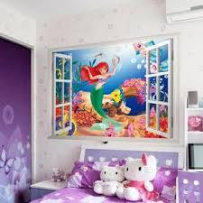 International Gifts The Little Mermaid Ariel Wall Sticker Vinyl Art Decals Decor