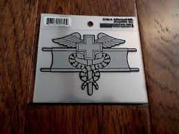 Af 1059 Air Force Medic Usaf Wings Military Bumper Sticker Window Decal 3 99 Picclick