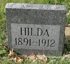 Hilda Peterson (1891-1912) - Find A Grave Memorial
