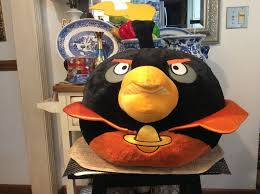 Angry Giant Birds 2012 Black Space Bomb Bird Plush Stuffed Animal with  Sound 24 - Angry Bird Gifts #angrybird #ang… (With images) | Plush stuffed  animals, Bird gifts, Angry birds