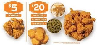 5 10 and 20 fried en deals