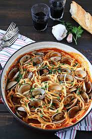 Linguine with Red Clam Sauce • Steele ...