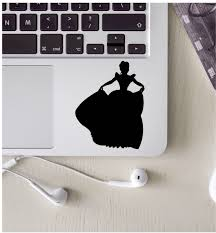 Cinderella Laptop Decal Cinderella Sticker Computer Decal Keyboard Decal Disney Decal Disney Princess Decal Princess L Laptop Decal Car Decals Vinyl Etsy