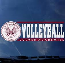 Culver Academies Volleyball Decal Culver Eagle Outfitters