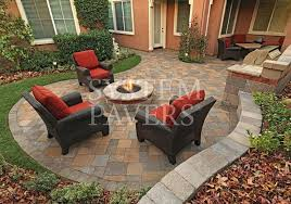 how to build a fire pit patio with
