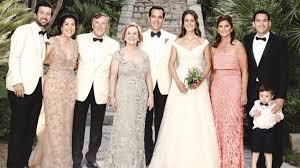 Cemiyet dünyasını buluşturan düğün