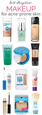 the best makeup for acne