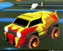My Troll Car Because Watching People Lose To A Bright Yellow Lone Wolf Decal Van With A Salty Topper And Laughing Wheels Feels So Good Oh And The Boost Is Confetti Of Course