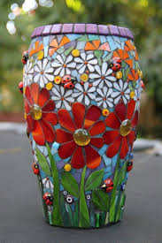 mosaic flower pots mosaic flower pots