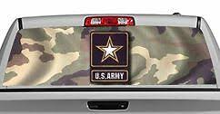 Truck Rear Window Decal Graphic Military Us Army 20x65in Dc03702 Ebay
