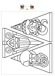 Via Google Nl Www Dedovepieten Nl Knutselplaten Sinterklaas