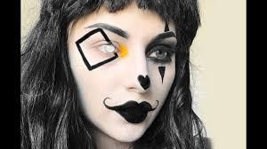 mime clown halloween makeup tutorial