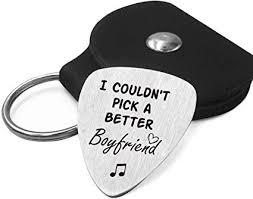 com best boyfriend guitar pick gifts for him men love