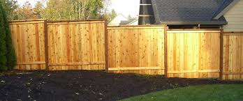 Wood Fence In Portland Or Wood Fence Fence Design Fence