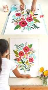 diy beautiful large wall art 5 and 1