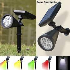 solar spotlights outdoor waterproof 4