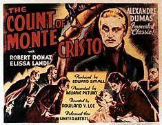 Count Of Monte Cristo 1934 | Count monte cristo, Robert montgomery ...