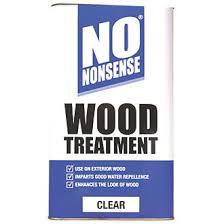 No Nonsense Wood Treatment Clear 5ltr Woodworm Treatment Screwfix Com
