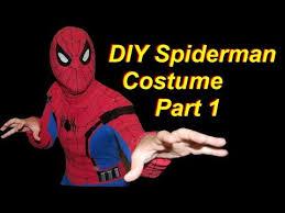 diy spiderman costume part 1