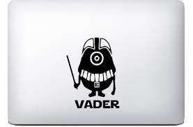 Product Darth Vader Minion Sticker Macbook